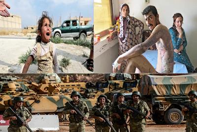 جرائم اردوغان, فيديو جديد, تعذيب القوات التركية, مواطنين سوريين, مجلس النواب الامريكى, ادلة لاستخدام الفوسفور, الاكراد,