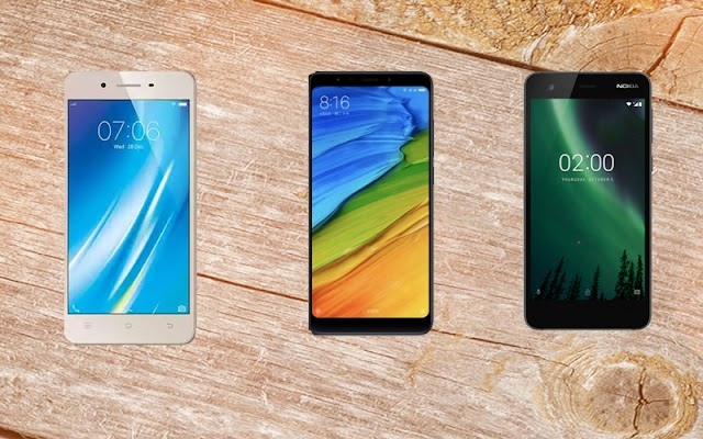 Triple Cheap Smartphone Battle War - Vivo Y53i vs. Redmi 5 vs. Nokia 2