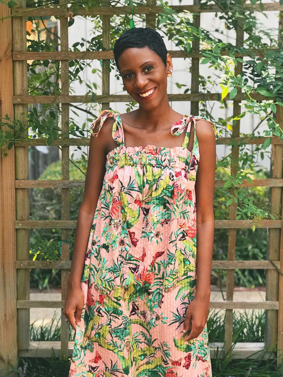 Summer Butterfly Dress Vibes