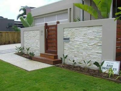 modern home exterior fence design ideas 2019
