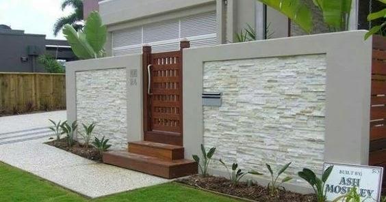 fence design ideas  home exterior