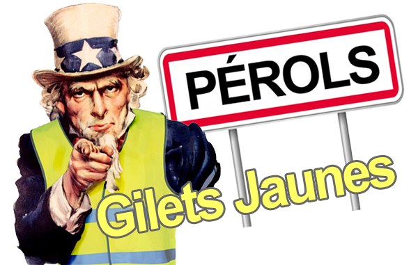 Gilets Jaunes Pérols