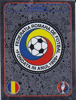 Panini FIFA World Cup 2018 Russia brillo sticker 392 emblema Costa Rica