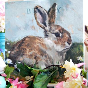 Bunny Rabbit Giclee Print Giveaway