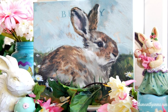 Bunny Rabbit Giclee Print Giveaway & Easter Trivia