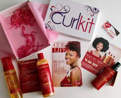 Unboxing CurlKit March 2017 with Creme of Nature - ClassyCurlies