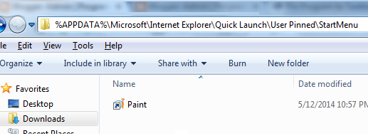 How to Pin a Program to Start menu via Group Policy