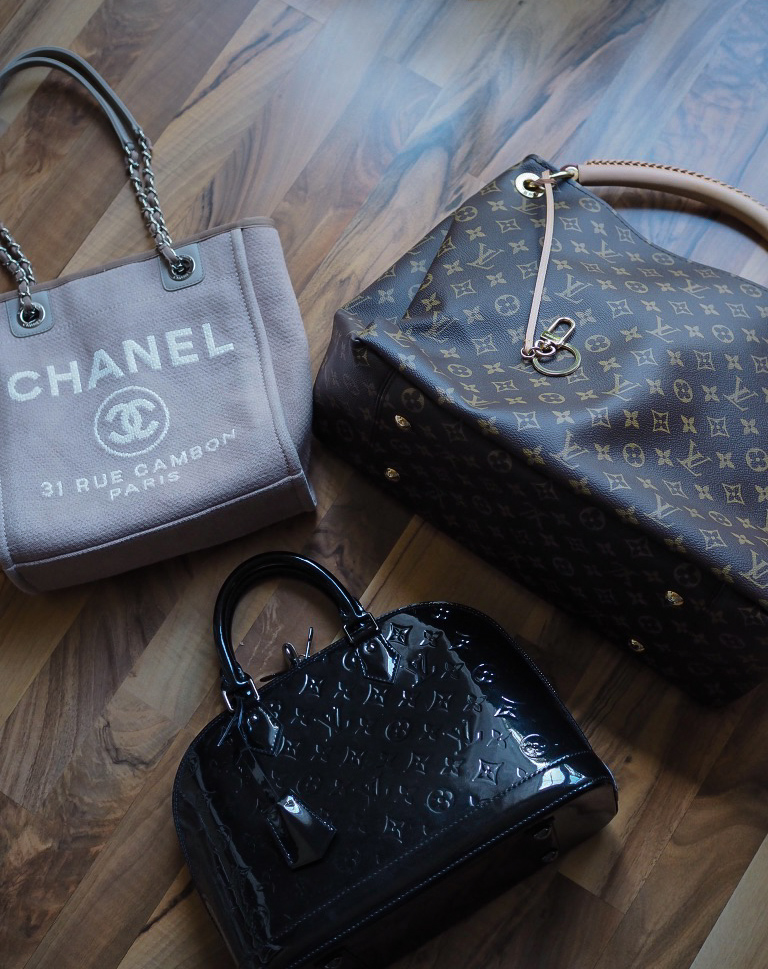Chanel, Louis Vuitton