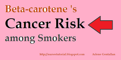 Beta-carotene 's Cancer Risk among Smokers