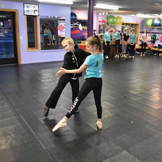 Northwoods Dance and Greatmats Ballet Dance Subfloor system with Marley Flooring