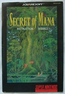 Secret of Mana - Manual delante