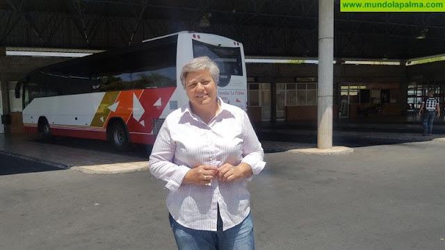 Noelia García Leal solicita al Gobierno de Canarias recuperar la estación de guaguas de Los Llanos de Aridane