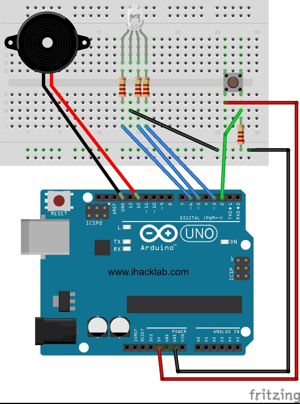 Arduino Speaker Code