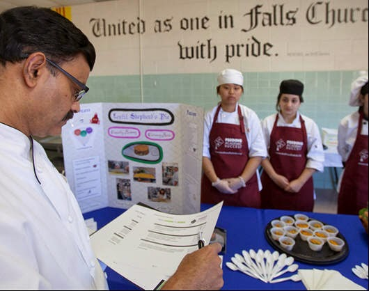 the annandale blog high school teams face off in culinary