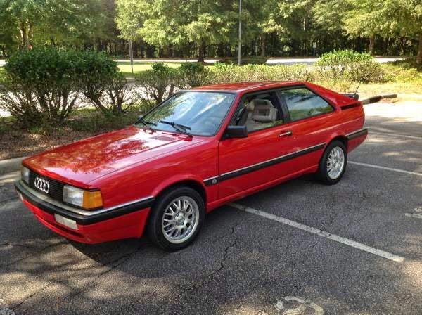 Daily Turismo: 2k: Wife Forces Sale: 1986 Audi Coupe GT