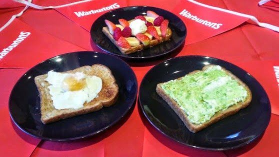 A varied healthy breakfast