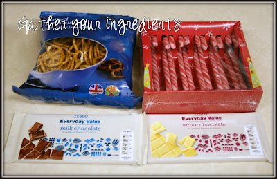 Christmas Peppermint Bark Ingredients