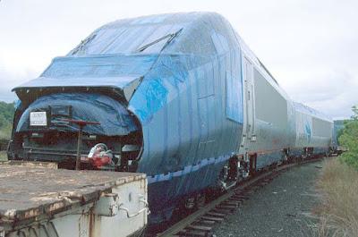 train under wraps