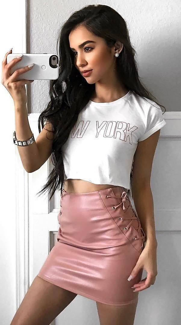 incredible outfit: top + skirt