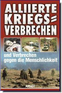 German book Allied War Crimes WW2