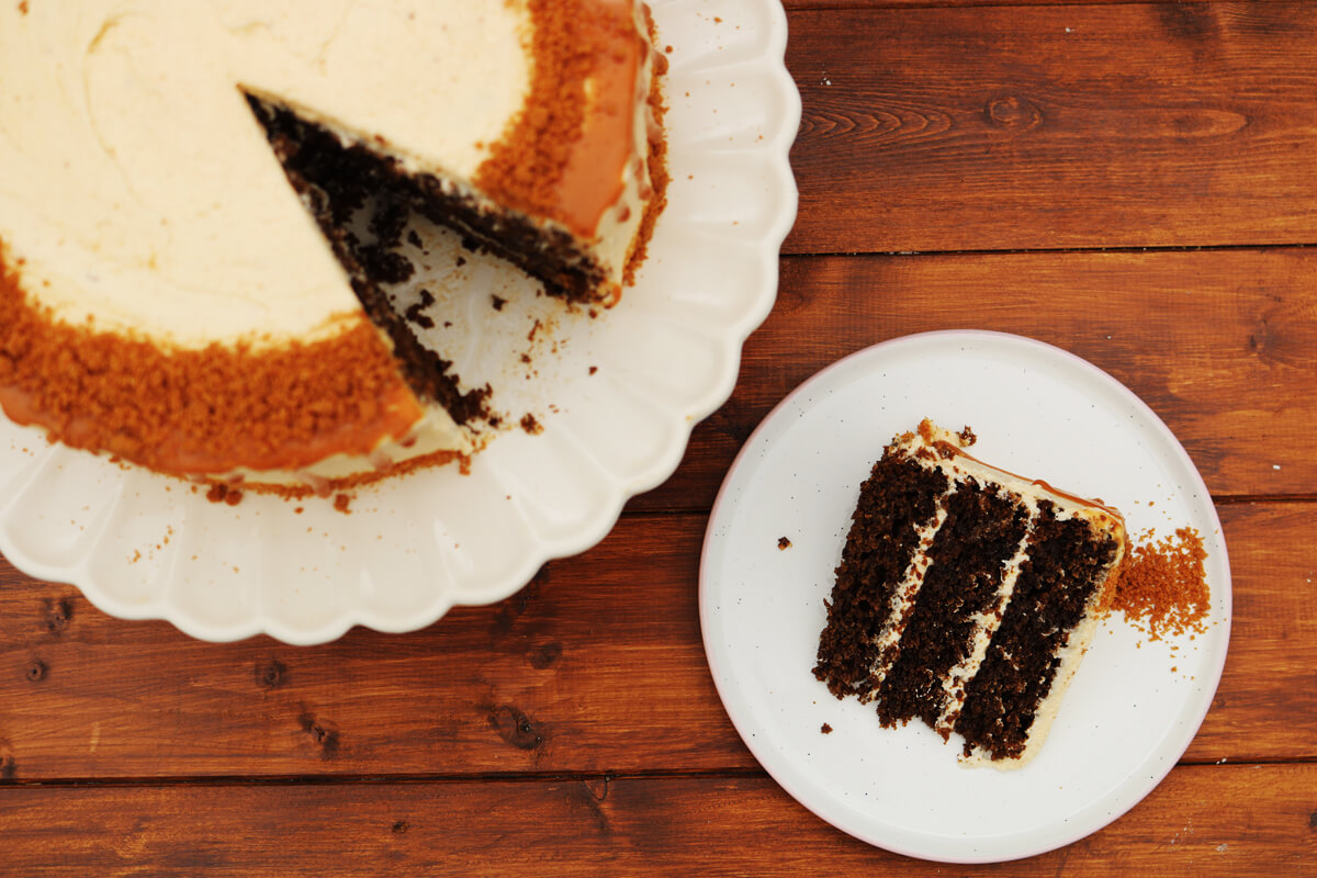 Gingerbread and Spiced Rum Layer Cake | Bake Off Bake Along | Take Some Whisks