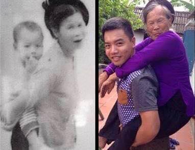foto unik keluarga yang tidak berubah momennya setelah puluhan tahun-13