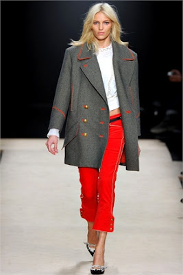 Military chic Trend - Isabel Marant - Fall Winter 2012