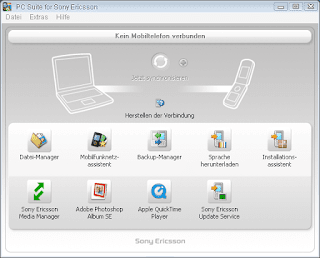 Download Sony Ericsson PC Suite Latest Version v1.6.0