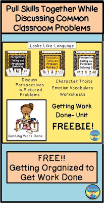 Working on social skills? Get this great freebie from Looks Like Language!