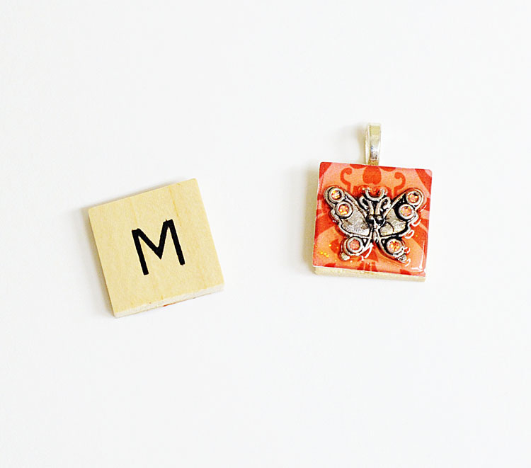 Ben franklin crafts and frame shop how to make a scrabble tile pendant how to make a scrabble tile pendant aloadofball Image collections