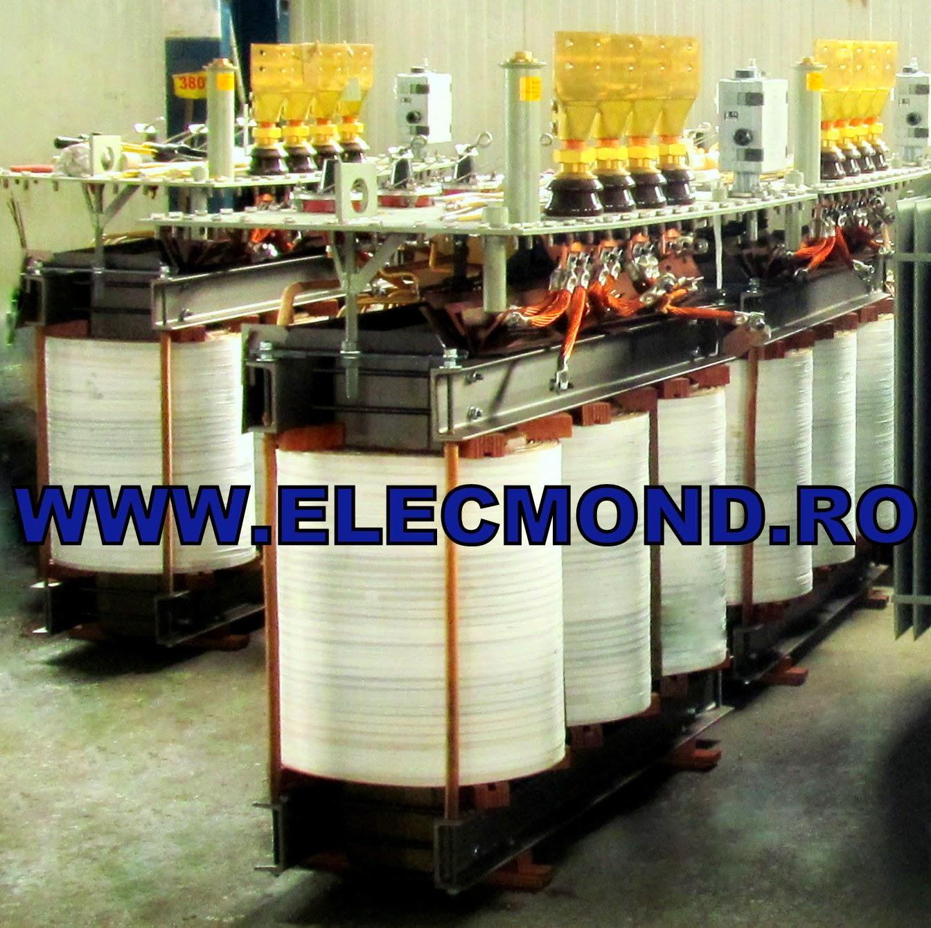 MODIFICARE RAPORT DE TENSIUNE DIN 20/0,4 kV in 6/0,4 kV PENTRU TRANSFORMATOARE TRIFAZATE IN ULEI