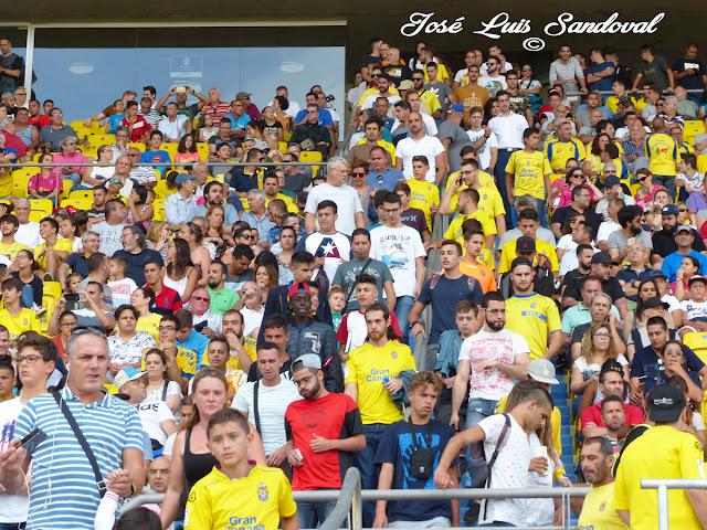 Fotos presentación Prince Boateng Estadio Gran Canaria