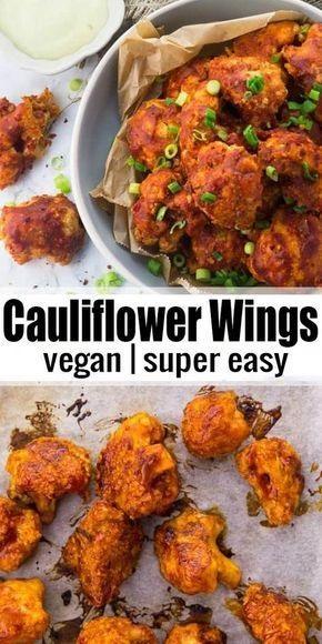 Cauliflower Hot Wings With Vegan Aioli