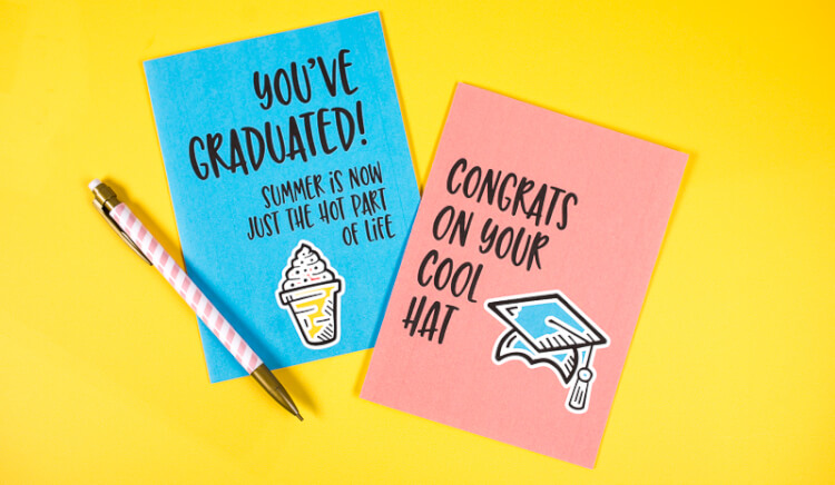 image about Free Printable Funny Graduation Cards called Musings of an Regular Mother: Could 2016