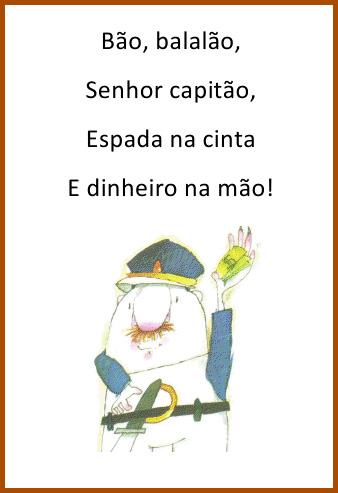 Blog Cantinho da Dia PARLENDAS ILUSTRADAS