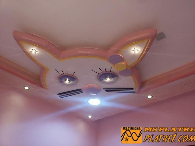 Plafond de Chambre a Coucher pour les fille