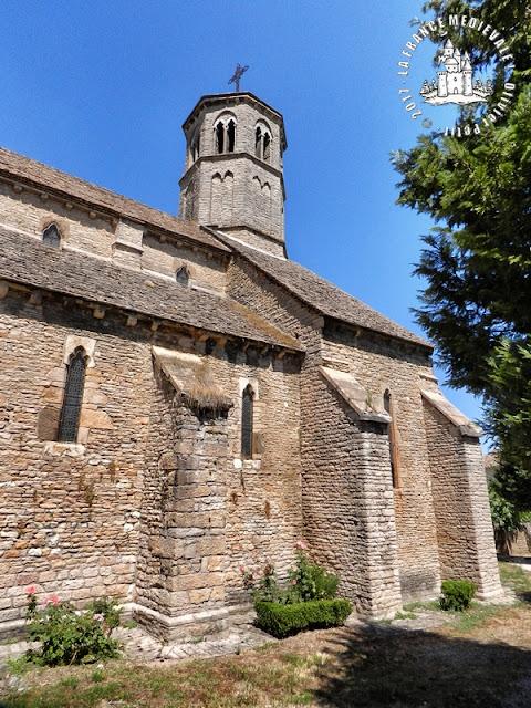 SAINT-ALBAIN (71) - Eglise Saint-Albain (XIIIe siècle)
