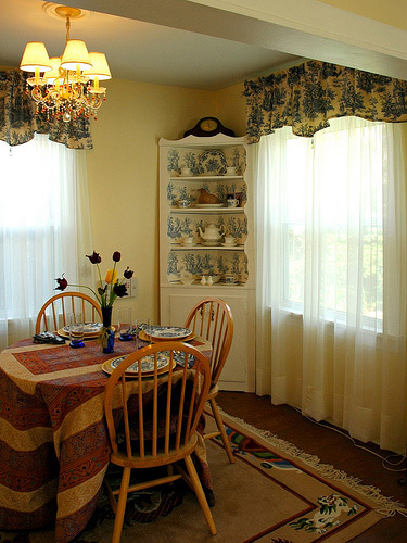Kitchen Valance French Country Design