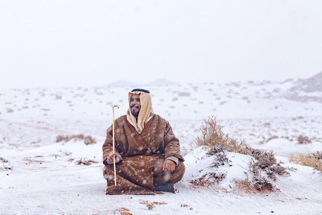 Χιόνισε στην Σ.Αραβία! «SOS» από επιστήμονες: Απέχουμε 1-2 βαθμούς από το «Hothouse earth» και την καταστροφή…!