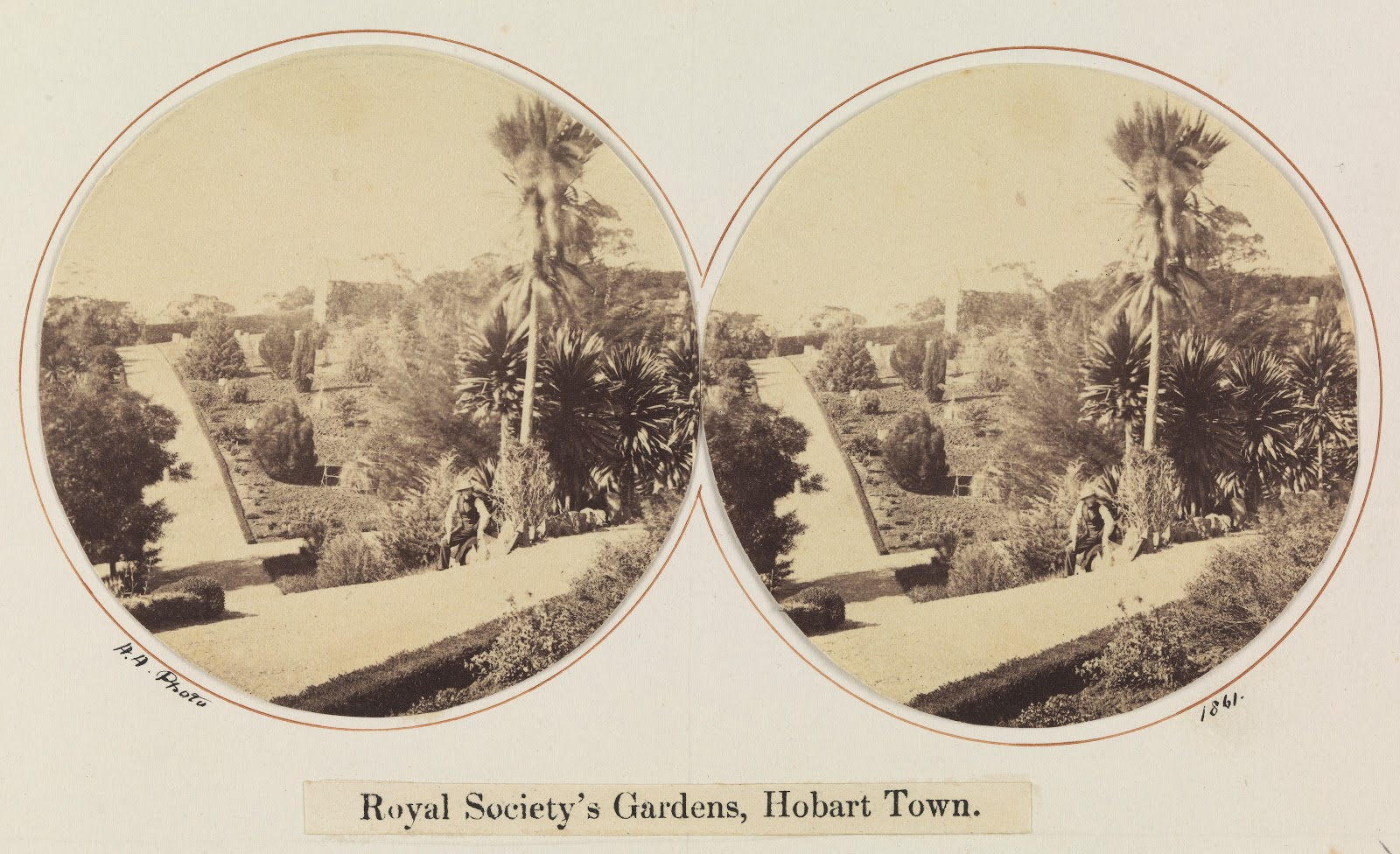 Royal Botanical Gardens 1860s
