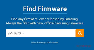 Flash Stock ROM Samsung GALAXY VIEW SM-T670 (WI-FI ONLY)