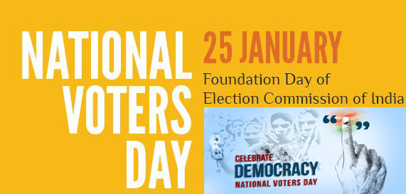 National Voters Day 25th January Theme and Notes