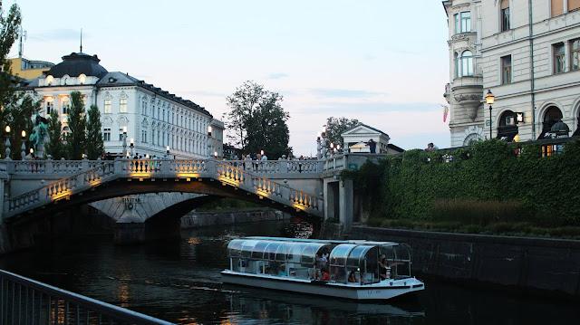 Ljubljana boat