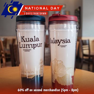 Starbucks Malaysia Merchandise Discount Offer Promo