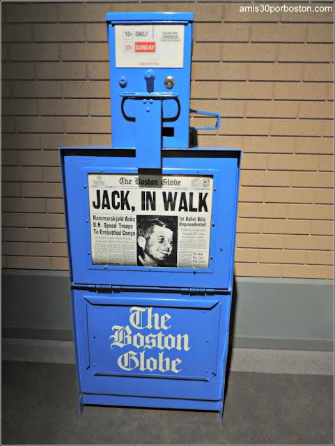 The Boston Globe durante la Campaña Electoral de Kennedy