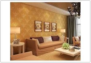 jenis warna cat ruang tamu menurut feng shui coklat