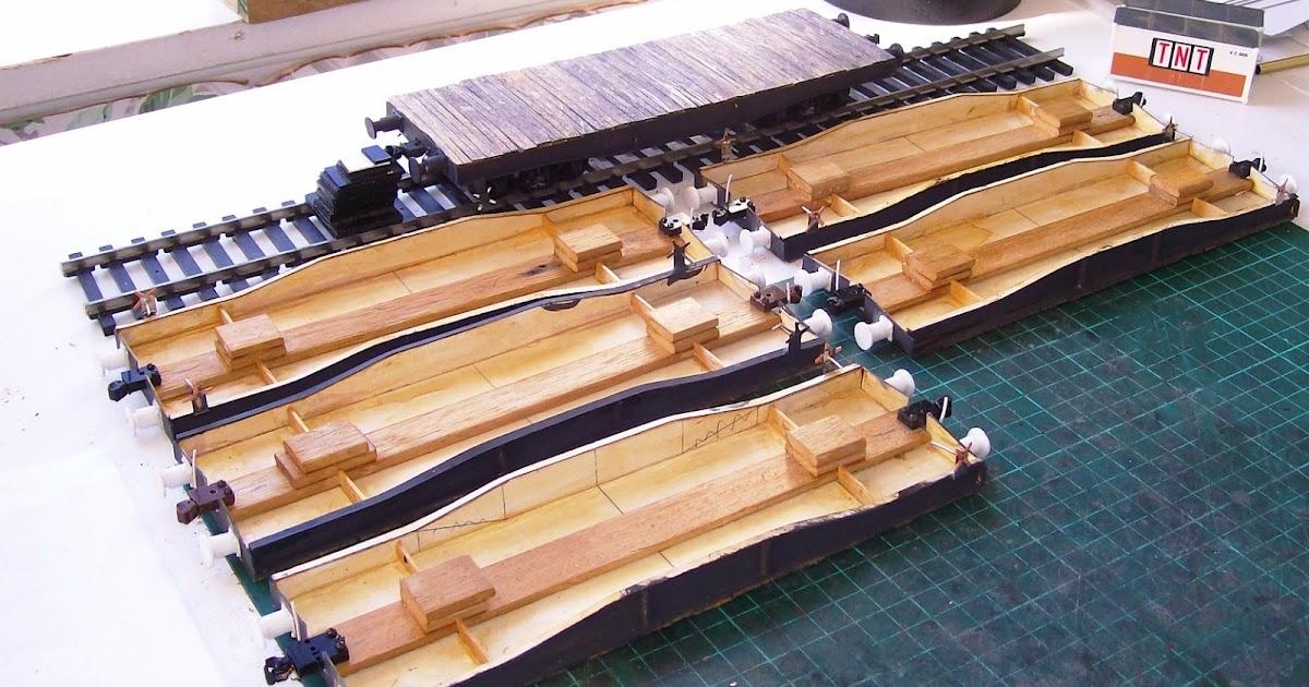 Trainsinshed TE wagon rake progress