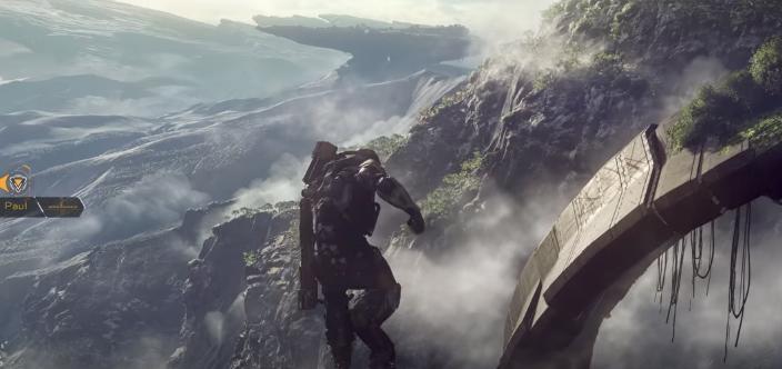 Anthem muestra gameplay de su enorme mundo abierto cambiante