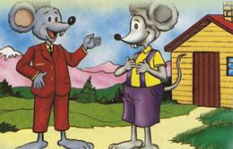 el raton del campo y el raton de la ciudad