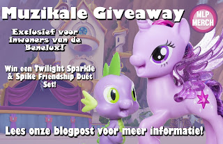 (Dutch) Nog 1 Week - Twilight Sparkle & Spike Friendship Duet Winactie!